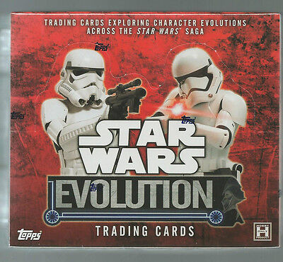 2016  Star Wars Evolution Factory Sealed Hobby Box