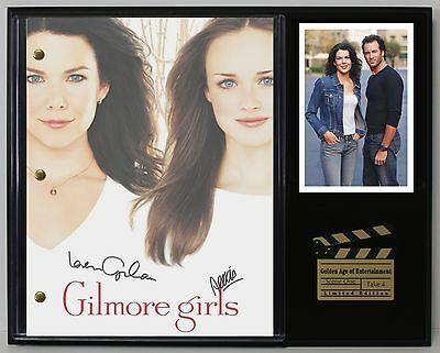 "Gilmore Girls Ltd Edition Reproduction Television Script Display ""c3"""