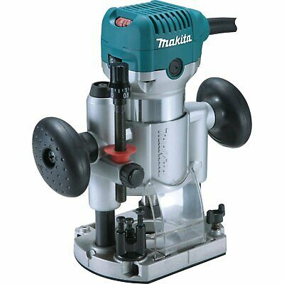Makita RT0701CX7 1-1/4 HP 10,000-30,000 Rpm Variablew Speed Compact Router Kit