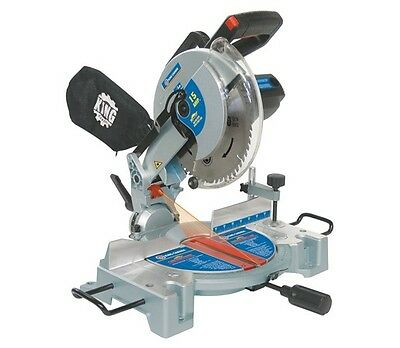 "King Canada Tools 8324N 10"" COMPOUND MITRE SAW WITH LASER Scie à Onglets 10"""