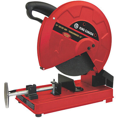 """King Canada Tools 8342N 14"""" CUT-OFF SAW Tronçonneuse 14"""" Powerful 15 amp motor"""