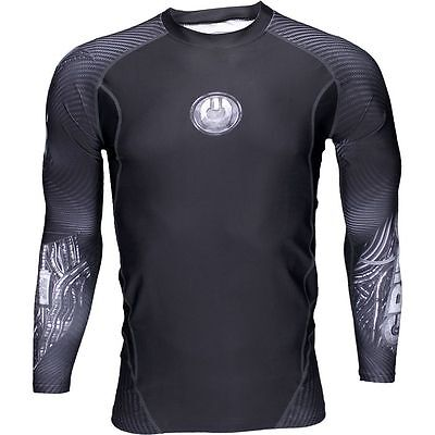 Grips Limited Edition Cyborg Rashguard Long Sleeve BJJ MMA rash guard Jiu Jitsu