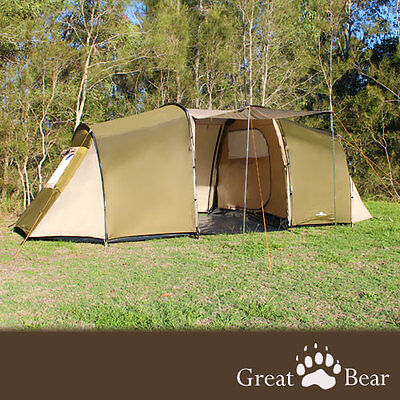 BRAND NEW 6 man person G-Bear 6220 camping family tent