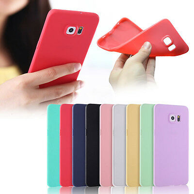 Ultra Thin Slim Rubber Soft TPU Silicone Cover Case For Galaxy S9 Plus Note 8