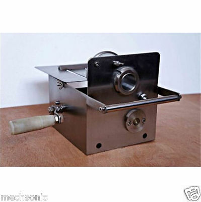 32mm Stainless Steel Manual Hand-rolling Sausage Tying & Knotting Machine NEW