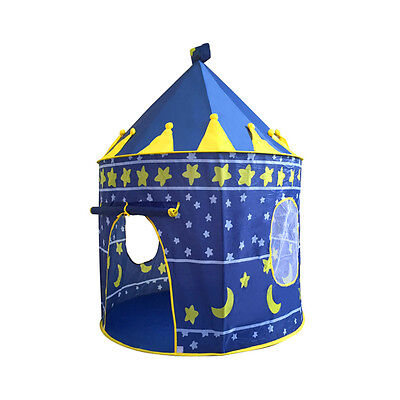 Kids Children Play Tent Prince Princess Castle Indoor Outdoor Playhouse Gift
