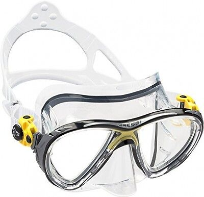 Cressi Big Eyes Evolution Scuba Diving And Snorkeling Mask - Yellow