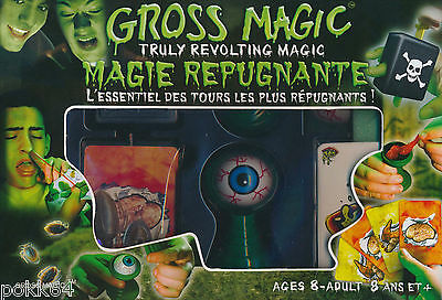 La Magie Répugnante coffret tours de magie gross magic notice Français 571004
