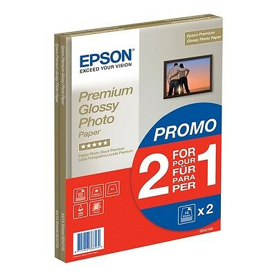 Epson A4 Premium Glossy Photo Paper 255Gsm 15 Sheets Plus 15 Free - C13S042169