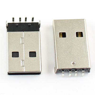 20Pcs USB 2.0 Female B Type 4 Pin Right Angle PCB Connector For Printer Port