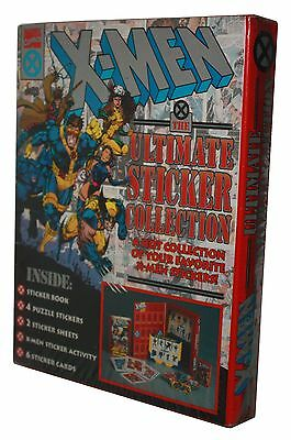 MARVEL COMICS-X-MEN-ULTIMATE STICKER COLLECTION-Puzzle Stickers and more-rare