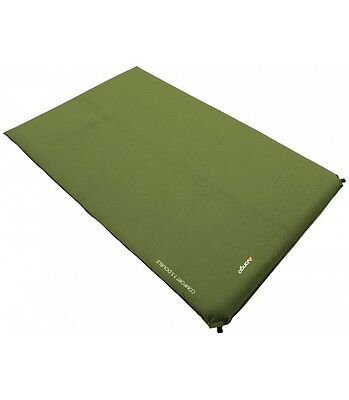 Vango Comfort Double Self-Inflating Mat - 7.5cm Deep