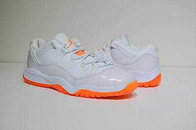 266fe88793375f Nike Air Jordan 11 Retro Low Gt Toddler 580522-139 White Citrus New 12C 1Y