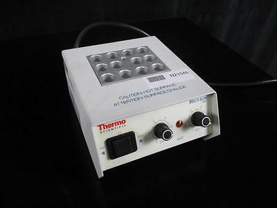 THERMO SCIENTIFIC Multi-Blok Heater 2050 with 3x4 Block WORKING