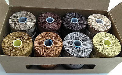 C-Lon Bead Cord 0.5mm Selection Gift Box - BROWNS jewellery beading clon craft