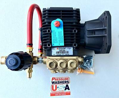 Comet ZWD4040G 4000PSI @ 4GPM Direct Drive Commercial Pressure Washer Pump Assy