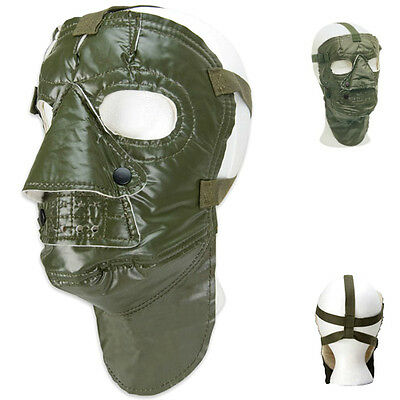 Original Military Face Mask Cold Weather Us Army Green Snow White Winter Hat Cap