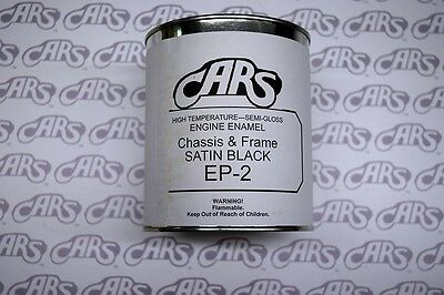 1903-1995 Buick | Satin Black Engine Compartment & Chassis Paint | Quart Can