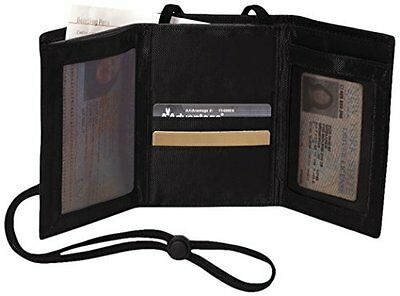 Swiss Gear RFID Protection Airport Id And Ticket Wallet, Black, One Size