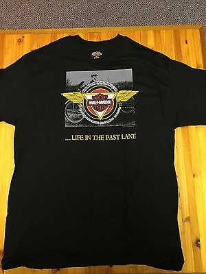 Harley Davidson Life In The Past Lane t-shirt Sz L