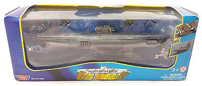 USS MIDWAY Die-Cast Metal & Plastic Ship BY MOTOR MAX 76745M SEALED! FREE S/H!