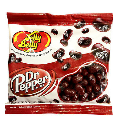 Jelly Belly Dr Pepper Jelly Beans from USA (Fat Free, Gluten Free, Peanut Free)