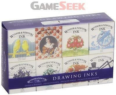 Winsor and Newton Drawing Ink Henry Collection
