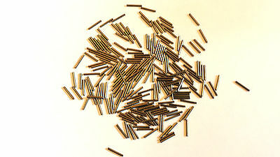 10mm long simple pêche Sertissures pour LIGNE CONFECTION - 0.8mm alésage