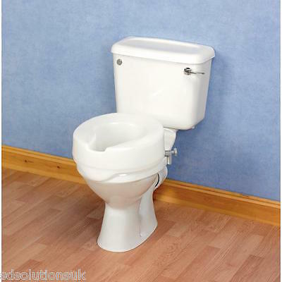 Patterson Medical Ashby Easyfit Raised Toilet Seat ( Choose Size )
