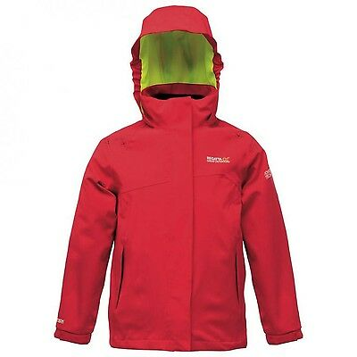 Regatta Codebreaker Boys Girls Kids Isotex 15000 Waterproof 3in1 Jacket