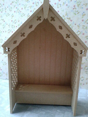 Dolls House Miniatures 1:12th Scale Arbour Kit