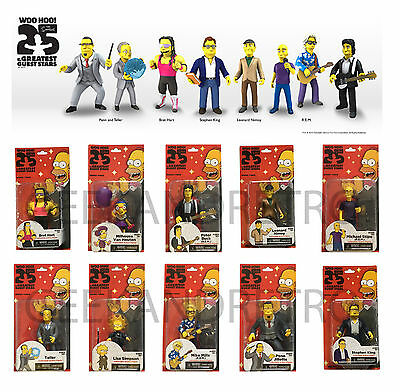 The Simpsons NECA 25th Anniversary Action Figures - Choose Your Own