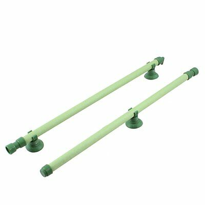 "Fish Tank Bubble Wall Air Stone Tube Green 12"" Long 2 in 1 Set S*"