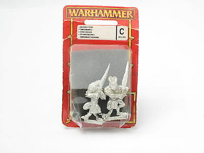 Warhammer Bloodletters (Khorne) c 83-40 New MOSC Metal Rare