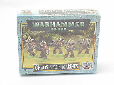 Warhammer Chaos Space Marines Squad x 5 citadel New Sealed Plastic 40k