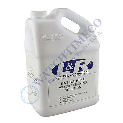 L&R Extra Fine Watch Cleaning Solution 1 Gallon