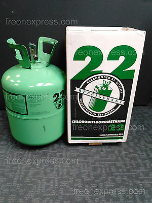 R-22  REFRIGERANT 30lbs. NEW IN BOX / SEALED - IMMEDIATE SHIPPING