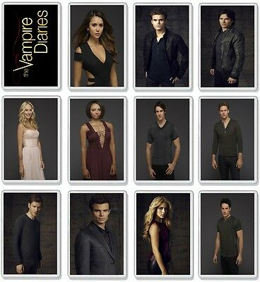 The Vampire Diaries Classic Tv Show And Dvd Select A Character Fridge Magnets