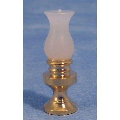 Dolls House Miniatures 1/12th Scale Brass Oil Lamp Non Working D004 New