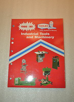 Toolex Industrial Tools & Machinery Catalog (1988-90) (Jrw #036)