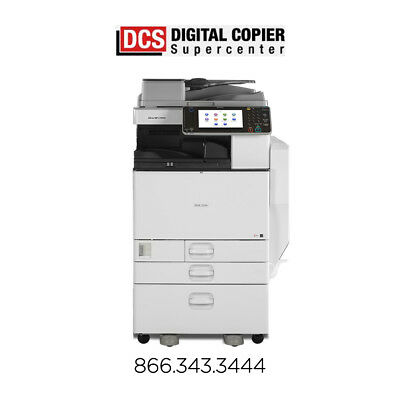 Ricoh Aficio MP C5502 Multifunction Color Copier Printer Scanner