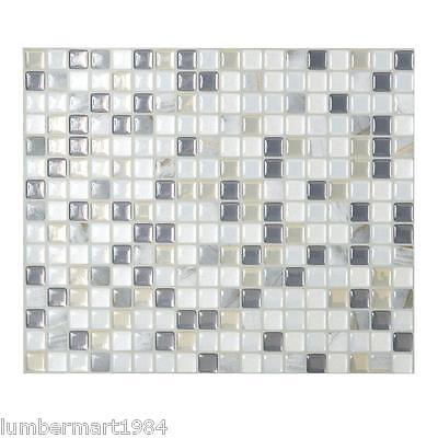 Smart Tiles SM1036-6 SELF-ADHESIVE WALL TILES 6/SHEETS MINIMO MOSAIK NOCHE
