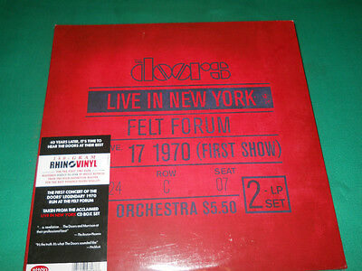 The Doors Live In New York January 17, 1970 2 Lp