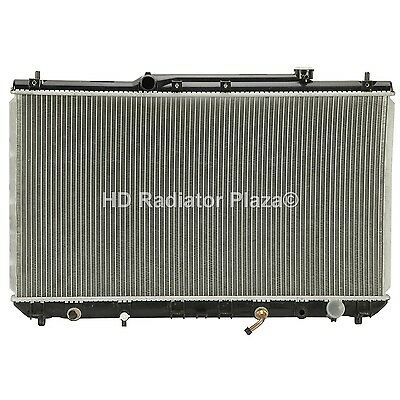 Radiator Replacement For 97-01 Toyota Camry 99-01 Solara 2.2L L4 4 Cylinder
