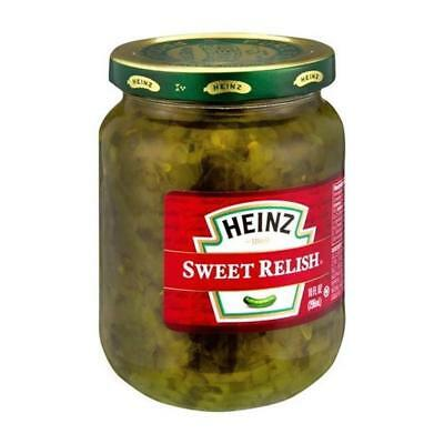 HEINZ Sweet Relish - Glass (296g)