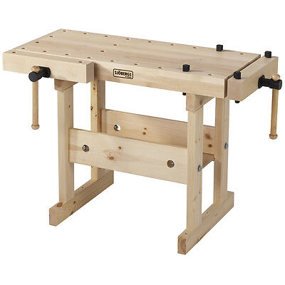 Sjobergs SJO-33365 40 x 20-Inch Solid Birch Bench Top Junior/Senior Workbench
