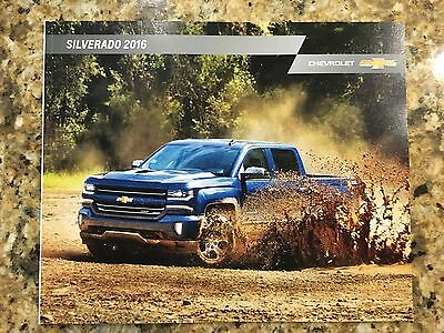 2016 Chevy SILVERADO 52-page Original Sales Brochure