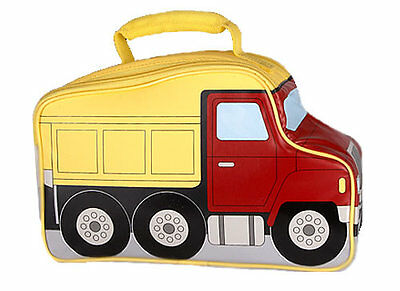 DUMP TRUCK shaped insulated lunchbox-BY THERMOS CO.