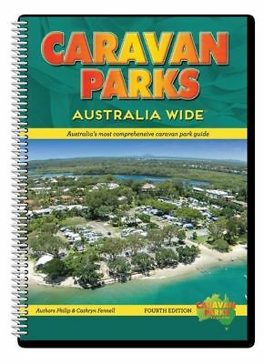 Caravan Parks Australia Wide 4th Edition New Camping RV Accessories Books Travel