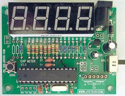 Capacitance Meter Kit; DIY Low-Cost AVR Evaluation Tool